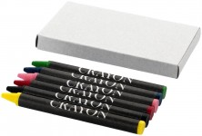 Set van 6 kleurpotloden