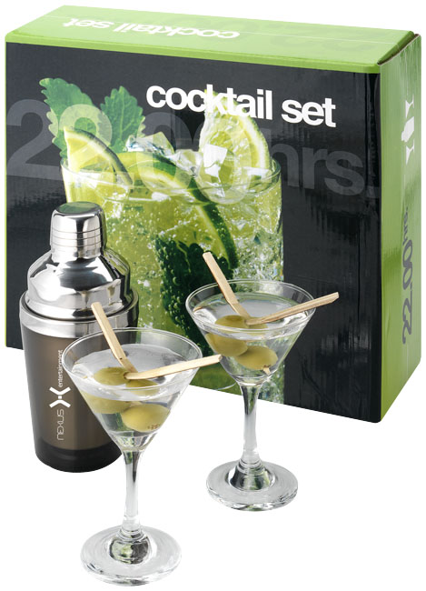 cocktail set, cocktailsets, glas , glazen, cocktailshaker, cocktailshakers