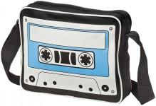 Iconic cassette schoudertas