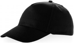 Berkeley 5 panel cap met metalen gesp