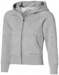 Race full-zip kinder sweater met capuchon