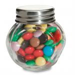 CHOCKY Chocolade in glazen potje      KC6640-99