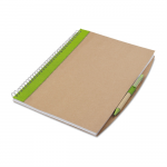 PAPIROS Gerecycled notitieboek met pen MO7171-48