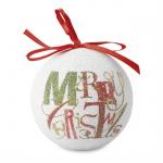 BLANCA Kerstbal in bijpassend doosje  CX1398-99