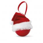 BOLIHAT Kerstbal met kerstmuts         CX1377-05
