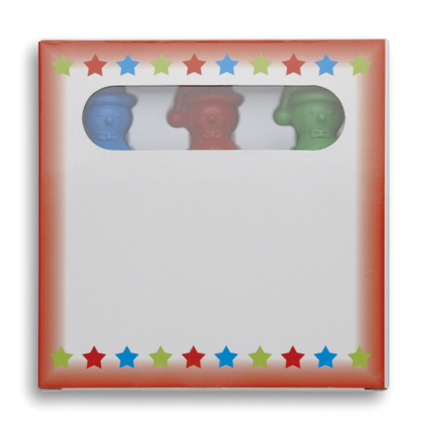 SNOWMANCOLOR Kleurset met krijtjes          CX1364-99