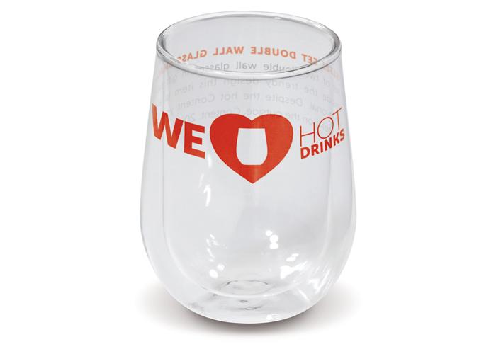 Dubbelwandig glas klein set
