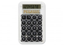 Kleine rekenmachine transparant
