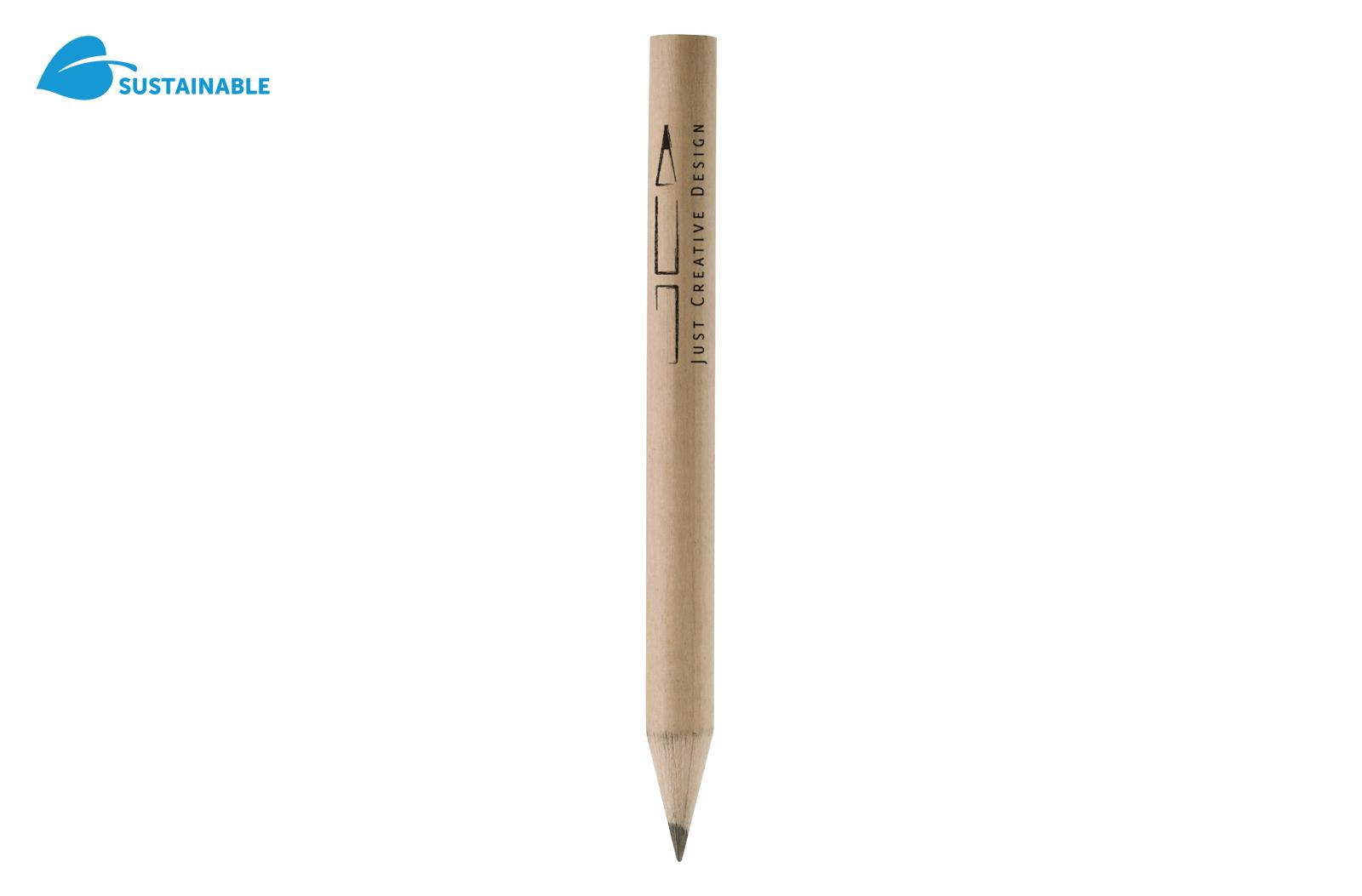Klein potloodje. Vervaardigd van gecertificeerd FSC-hout.