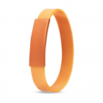 SHAK Metalen en siliconen armband   MO7838-10