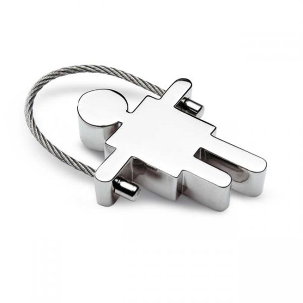 FREDS Metalen sleutelhanger          KC6293-17