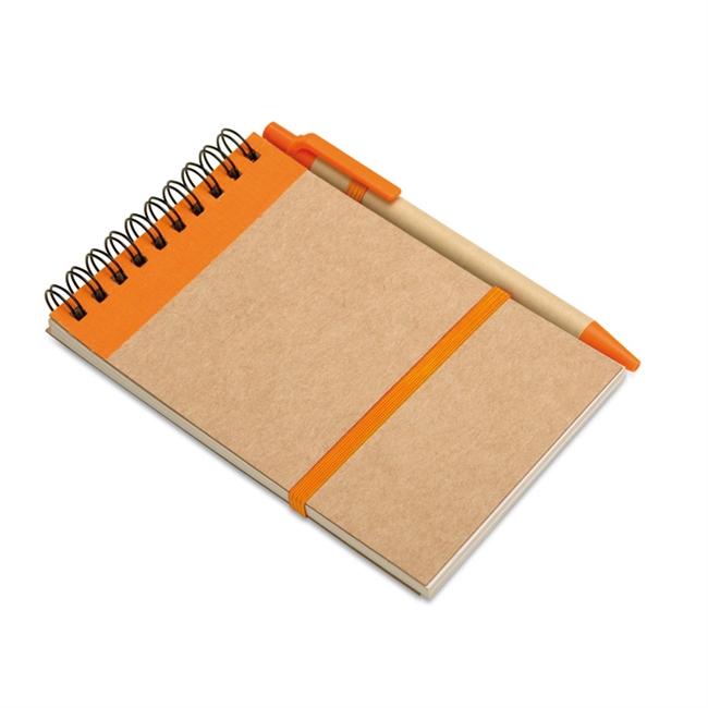 SONORA Notitieblok en balpen          IT3789-10