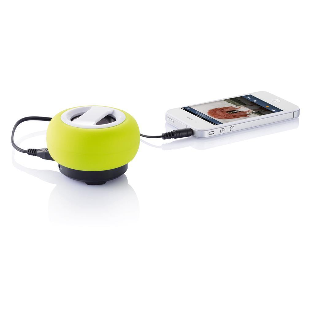 Krachtige bluetooth speaker met 600mAh herlaadbare batterij. Geniet draadloos van uw muziek