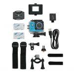 Moderne HD sport camera met 720P resolutie.  De camera heeft een 1