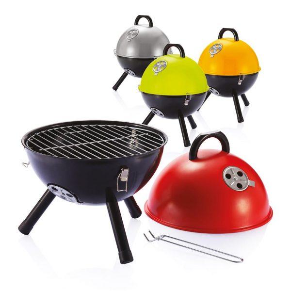 Bbq Met Deksel.12 Inch Barbecue Oranje P422 298 Promotiemiddelen Com