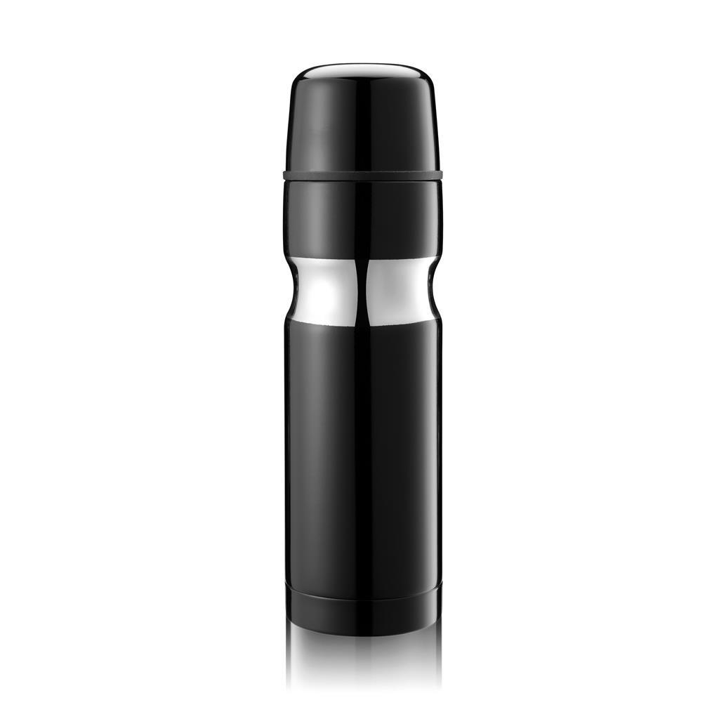 Contour is een 500ml dubbelwandige en vacuüm fles met zelfsluitende schenkopening en mok. Geregistreerd ontwerp®