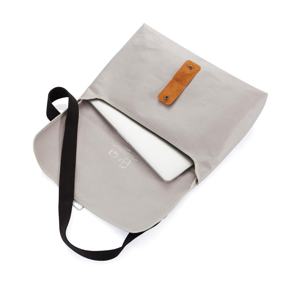 Ontwerp Een Tas : Pure messenger tas grijs p promotiemiddelen