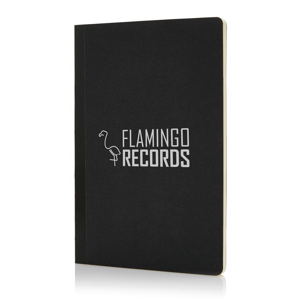 Schrijf je dagelijkse notities in deze trendy gekleurde en flexibele A5 notitieboekjes. 64 pagina's van 80g/m2.